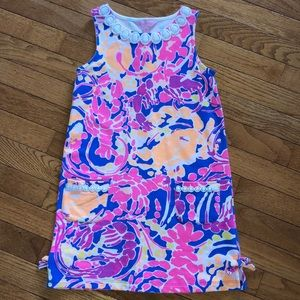 Girls Catch and Release Shift Dress Size M 6-7